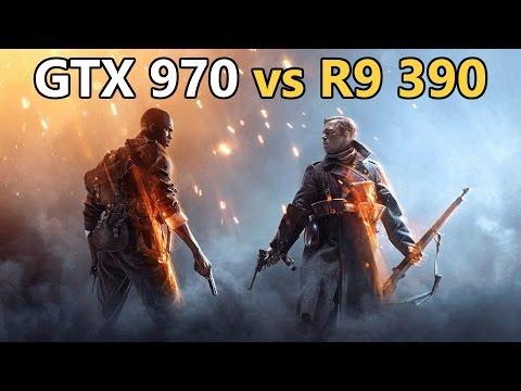 Battlefield 1 Last-Gen Showdown | GTX 970 v R9 390