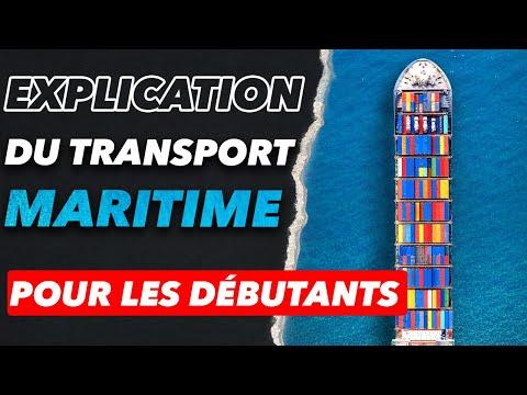 Explication du transport international maritime pour les débutants | Formation Import-Export #1