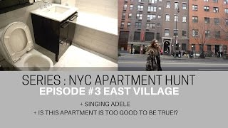 SERIES NYC Apartment Hunt | Building #3 In EAST VILLAGE