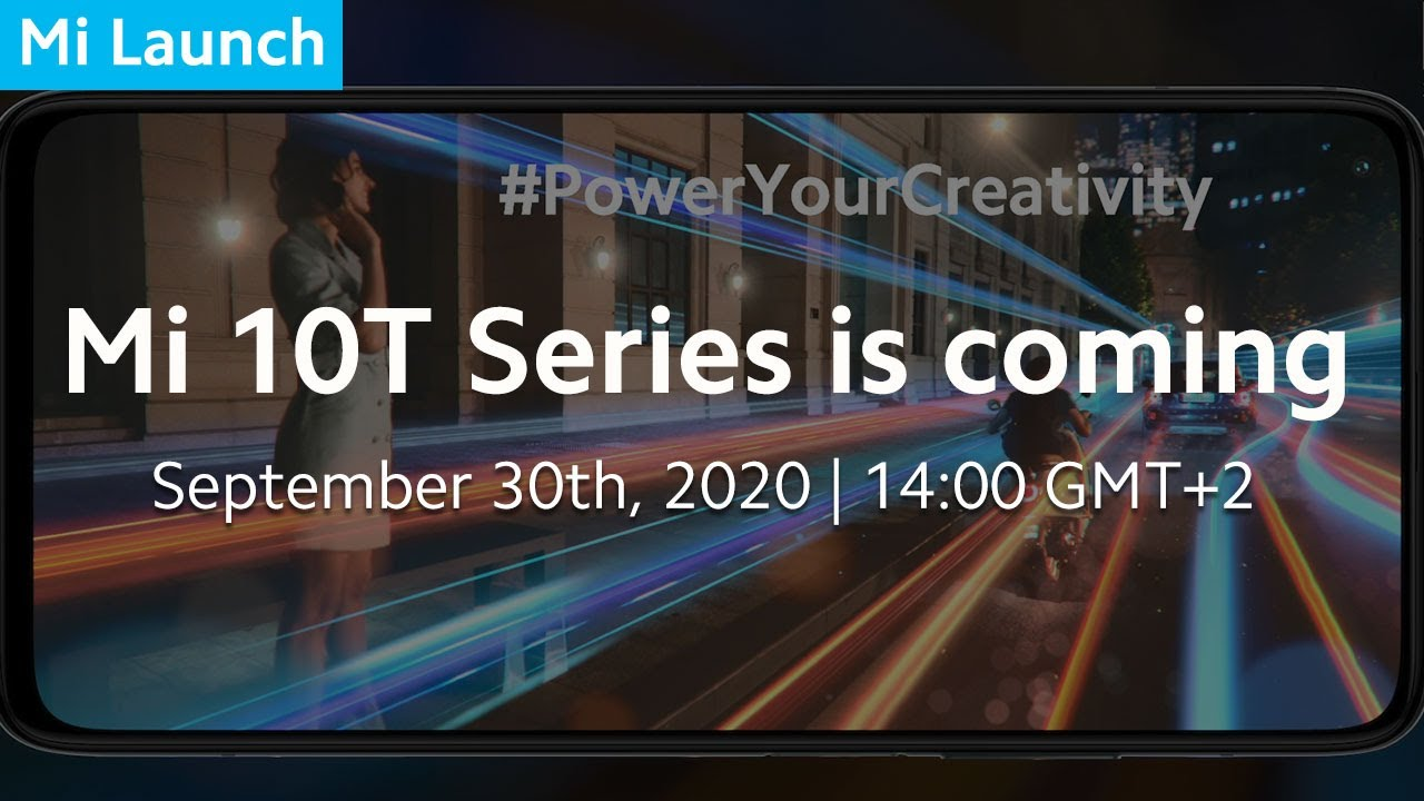 Mi 10T Series is Coming | Light Up Your Creativity