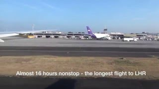 Manila - London  MNL-LHR  Philippine Airlines PAL720, B777