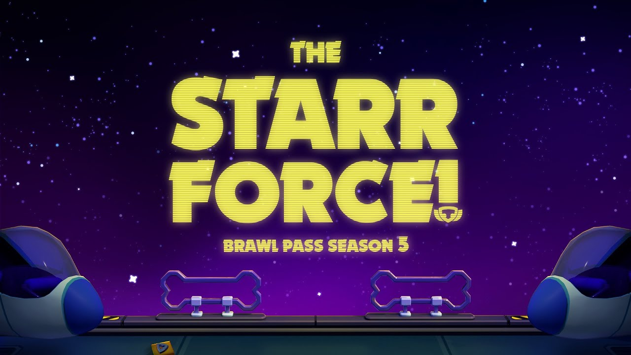 Brawl Stars Animation: Season 5 - The #StarrForce