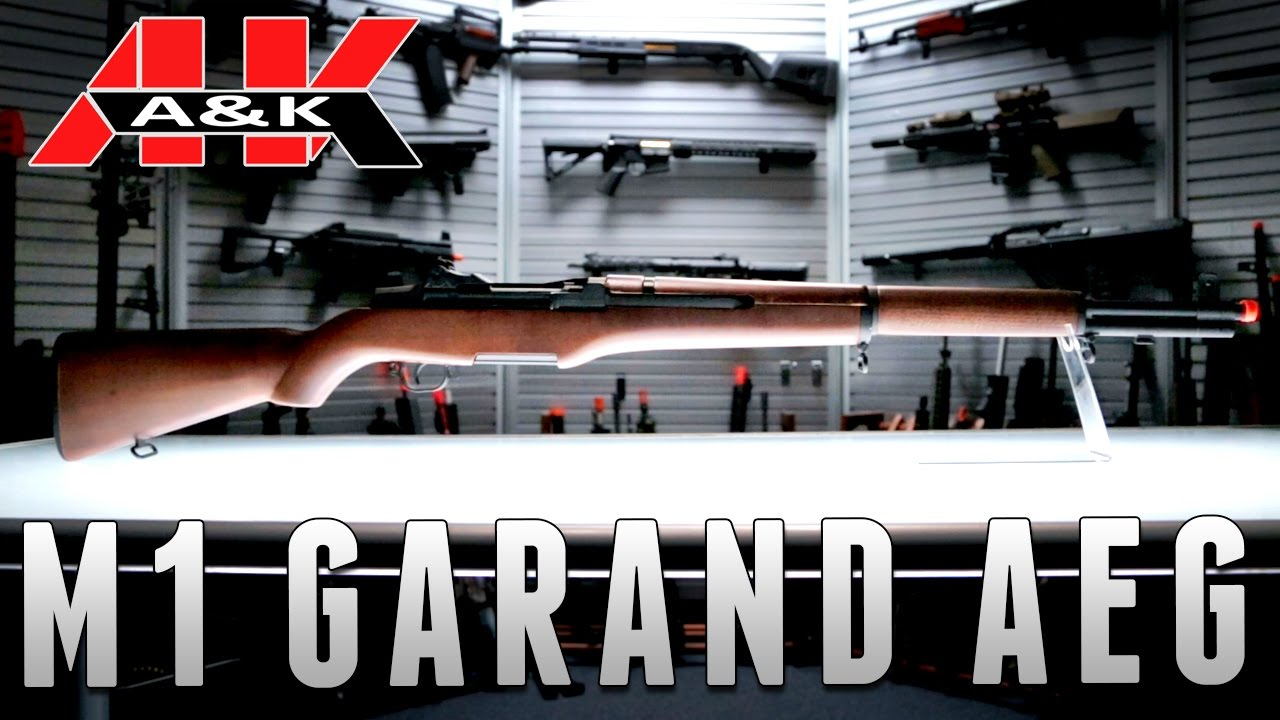A&K M1 Garand [The Gun Corner] - Airsoft Evike com