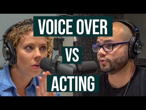 Difference Between Voice Over and Acting
