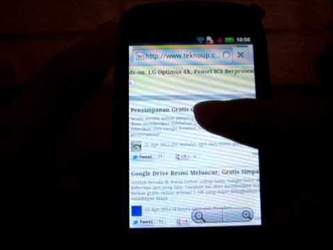 Browser Motorola Fire XT