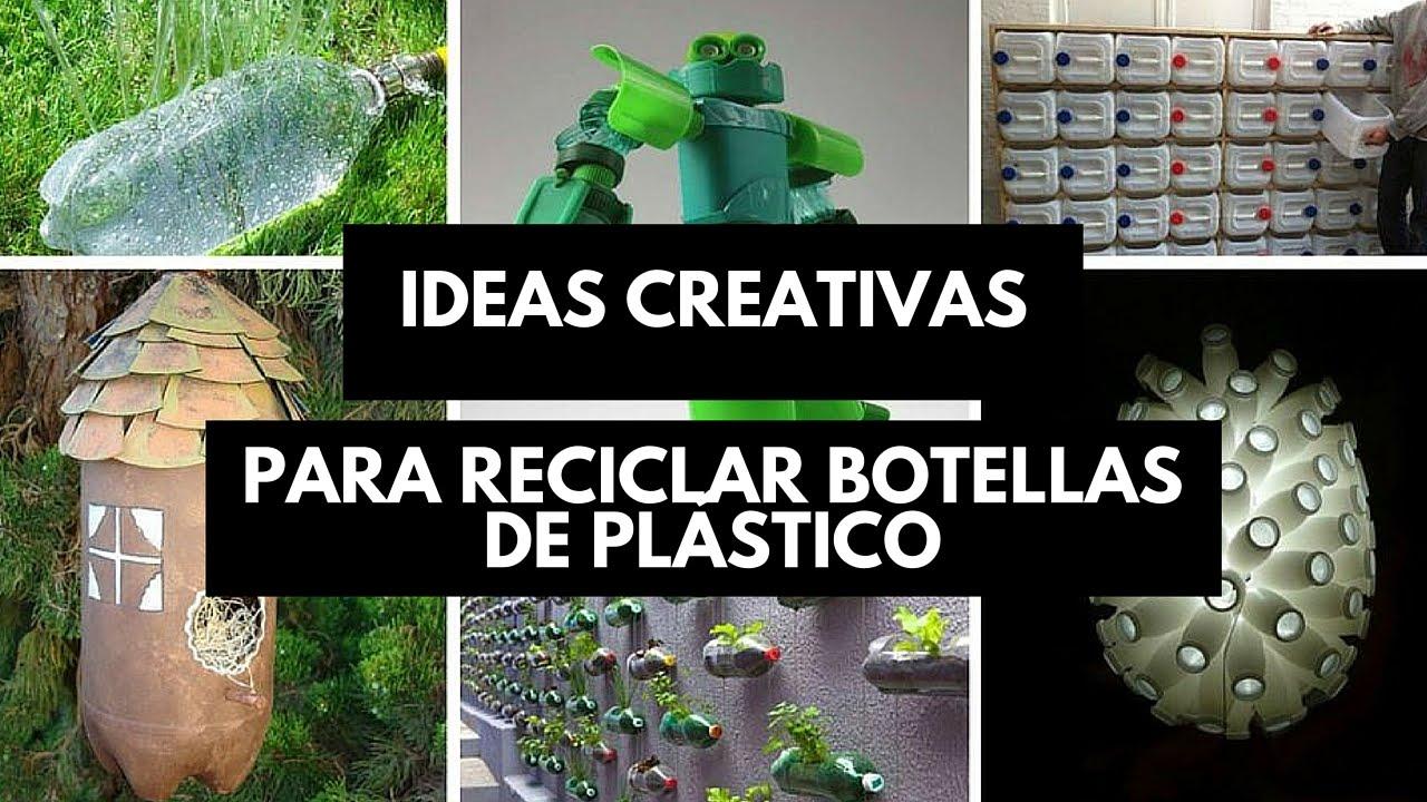 ideas de reciclaje para jardines Ideas Creativas Para Reciclar O Reutilizar Botellas De Plstico