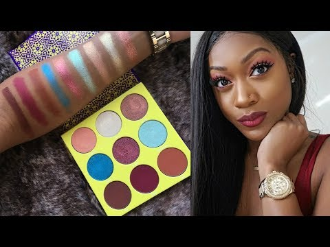 ✨JUVIA'S PLACE THE SAHARAN 2 PALETTE | REVIEW + SWATCHES / DEMO