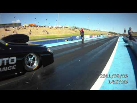 Greg Carter's Chev Cobalt combo takes the National record