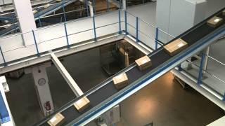 Hermes HUB Langenhagen - Paket Sortierung automatisiert