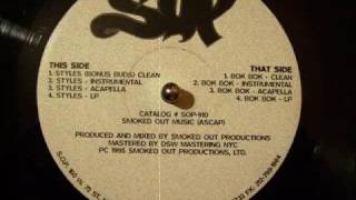 Smoked Out Productions - Styles / Bok Bok