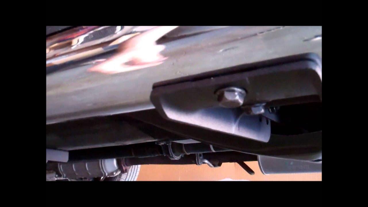 Honda CR V OEM Side Step Install YouTube