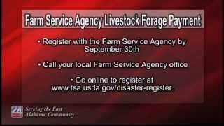 Farm Service Agency Livestock Forage Payment