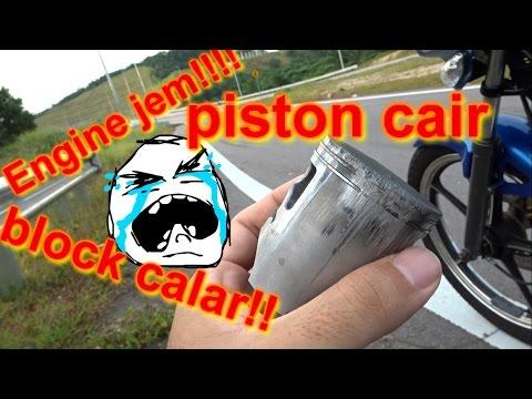 sekali piston jem daaa | Piston seized | Yamaha RXZ 135 | weekly dose of 2 stroke | episode 2