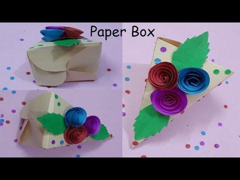 DIY/Handcraft/Paper pyramid Gift Box for Christmas/Paper  Craft/Handwork#149