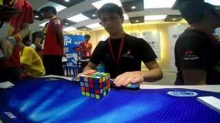 4x4 Rubik's cube world record: 21.54 seconds
