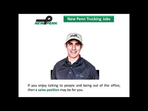 New Penn Trucking Jobs