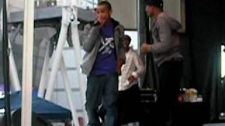 """Khalil at Nokia Plaza """"Hey Lil Mama"""""""