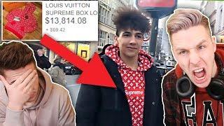 15.000€ für einen PULLOVER!!!  😡😡Wie VIEL IST DEIN OUTFIT WERT REACT!
