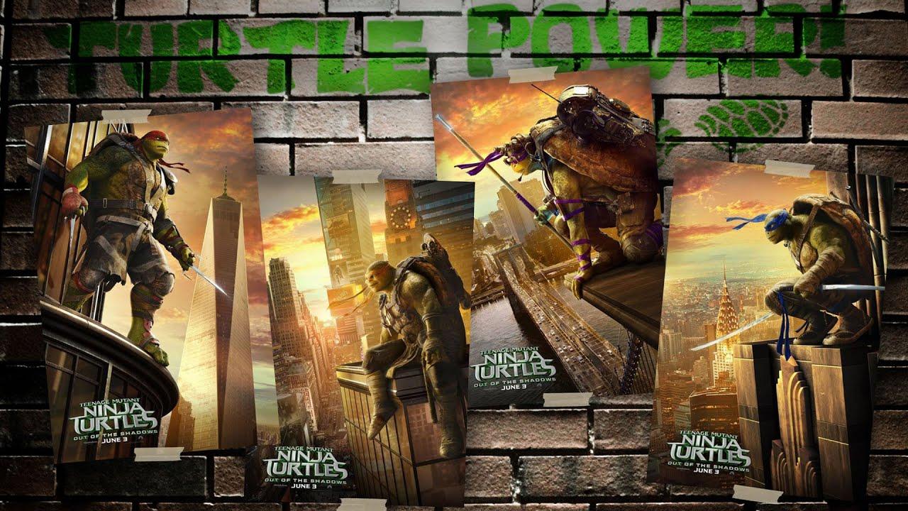 New Teenage Mutant Ninja Turtles 2 posters revealed ...