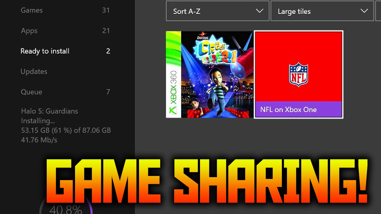 How to gameshare on xbox one safe and easy youtube ccuart Images