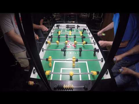 Chase Pennell and Bill vs Don Chalifoux and Saied Chicago Foosball Pick Tournament