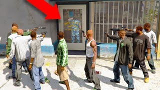 SHE MESSED WITH THE WRONG PEOPLE! *GANG SURROUNDS SHOP!* | GTA 5 THUG LIFE #251