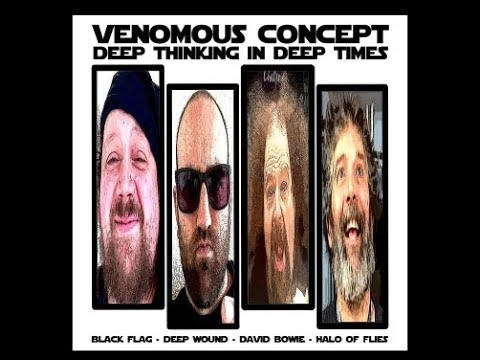 """Venomous Concept (Napalm Death/Brutal Truth) new covers EP """"Deep Thinking In Deep Times"""""""
