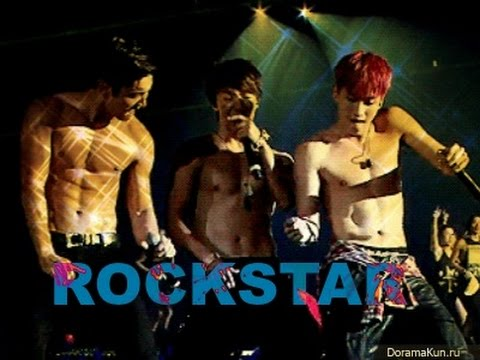 Super Junior I'm rock star.