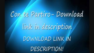 Con Te Partiro Techno Remix, MP3 Download.