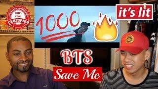 BTS (방탄소년단) - Save ME Official MV Reaction [WTF!!!! They GOT him!!!!]