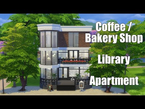 Sims  Bakery House Speed Build