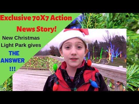 Bethlehem Hills Christmas Light Park Exclusive - 70X7 Action News!