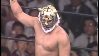 【覆面剥ぎマッチ】タイガーマスク vs マスクド・ハリケーン 1981.10.8 蔵前国技館.
