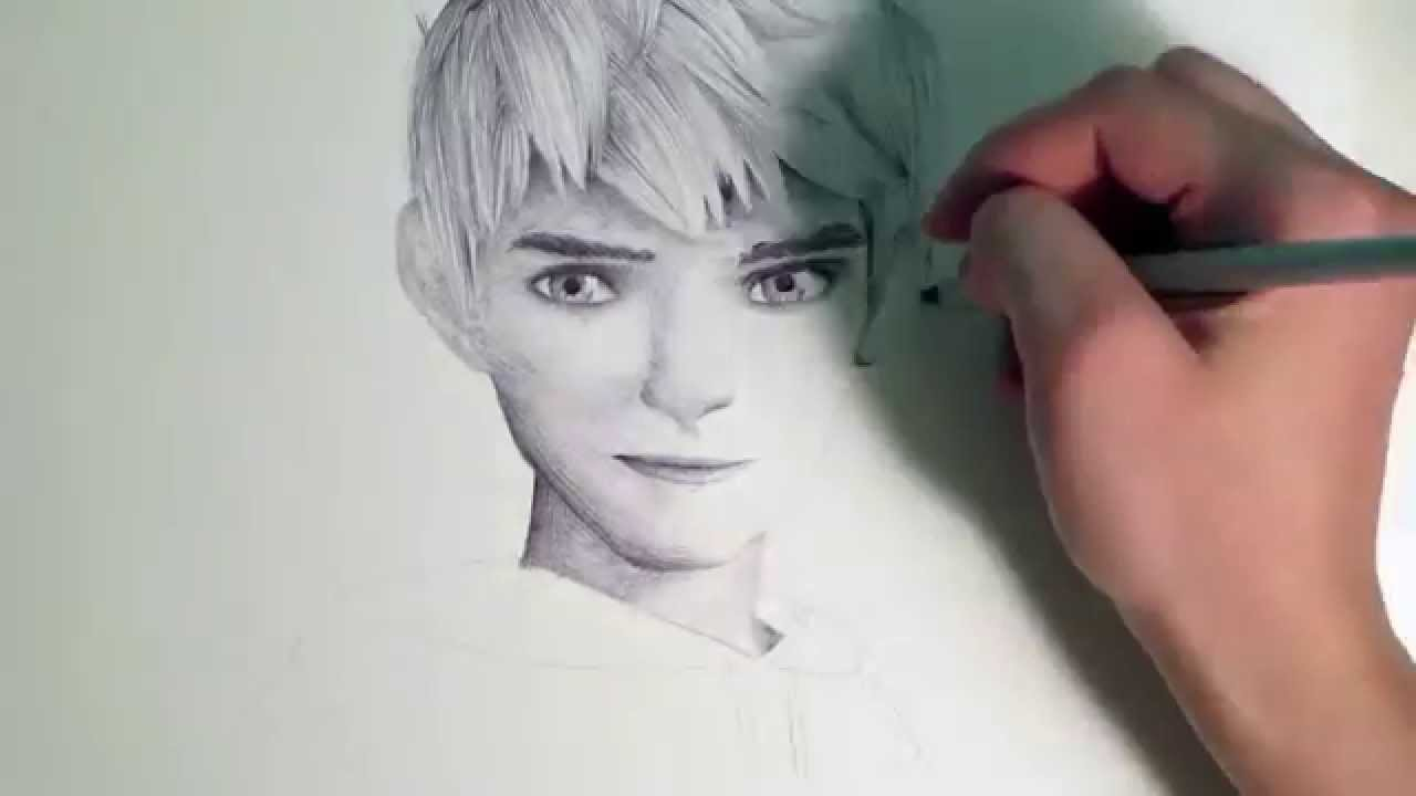 Jack Frost Speed Drawing Youtube
