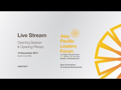 Live Streaming Open Government Indonesia