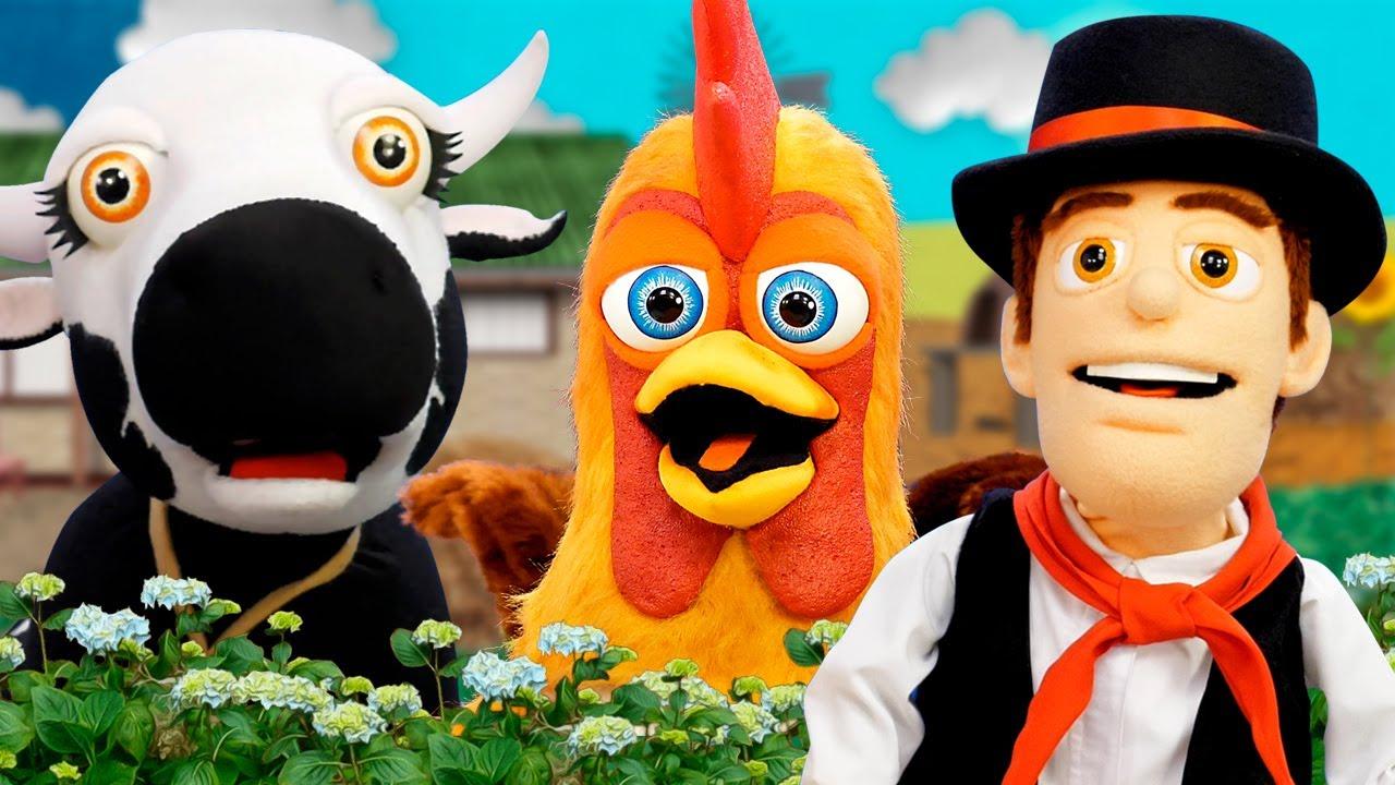 Cantando En La Granja con Bartolito y Más Marionetas |  Las Marionetas de la Granja
