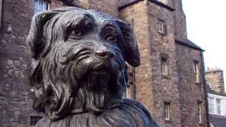 Greyfriars Bobby Skye Terrier Statue Edinburgh Scotland