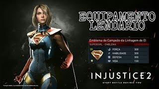 Injustice 2: SUPERGIRL - Equipamento Lendário