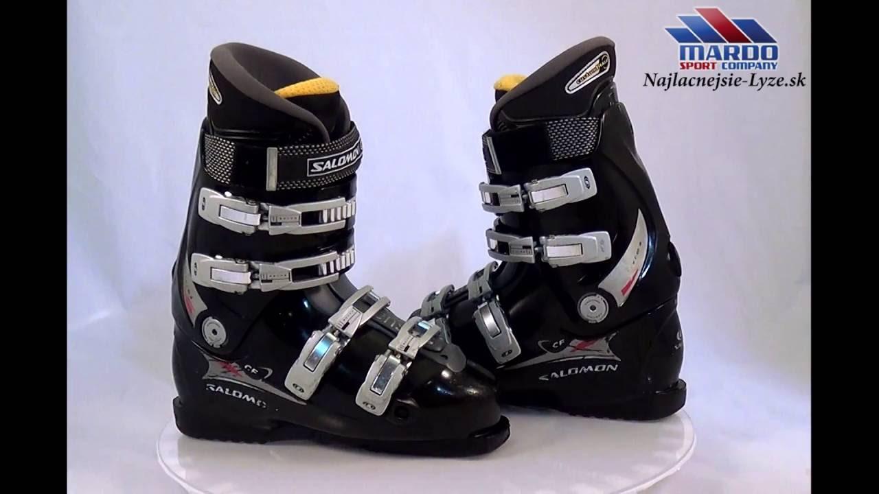 e9c1e4c6db7 lyziarky SALOMON PERFORMA CF, BLACK, height adjustment, custom fil ALU,  flex 65 70, sensifit, cantin