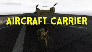 aircraft carrier arma 2 dayz mod ep 32