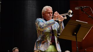 Doc Severinsen, age 89 with the United States Coast Guard Guardians Big Band