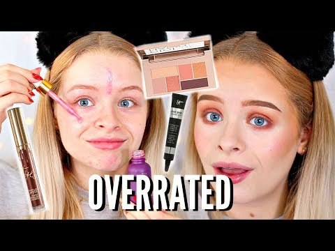 FULL FACE OF OVERRATED MAKEUP | sophdoesnails
