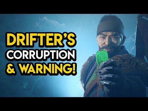 Destiny 2 - THE DRIFTER IS CORRUPTING OUR GUARDIAN!