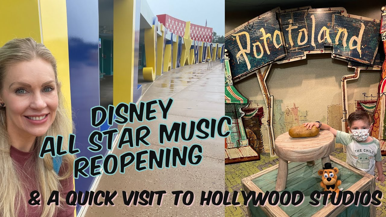 Grand Re-Opening of Disney's All Star Music Resort & a Quick Trip to Disney's Hollywood Studios