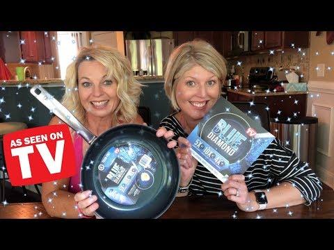 Blue Diamond Pan Review - As Seen On TV