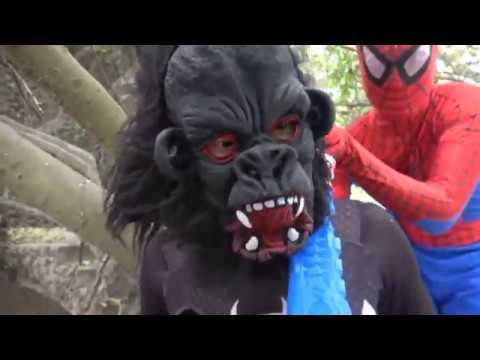 Phim hoạt hình siêu nhân nhện và siêu nhân gao bắn yêu quái Tập 3