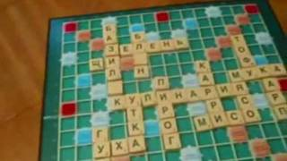Настольная игра Scrabble (Эрудит)