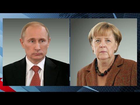 Состоялся телефонный разговор Владимира Путина с канцлером Германии Ангелой Меркель.