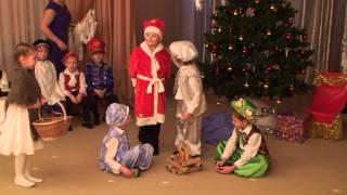 Новогодний праздник в детском саду.(Новогодний праздник 2013 года. Детский сад №41 группа