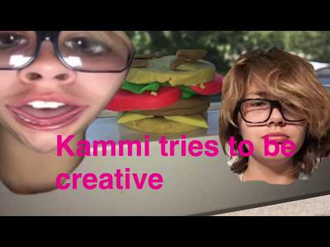 KAMMI BEING CREATIVE?!